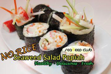 Seaweed Club Seaweed Sushi Roll