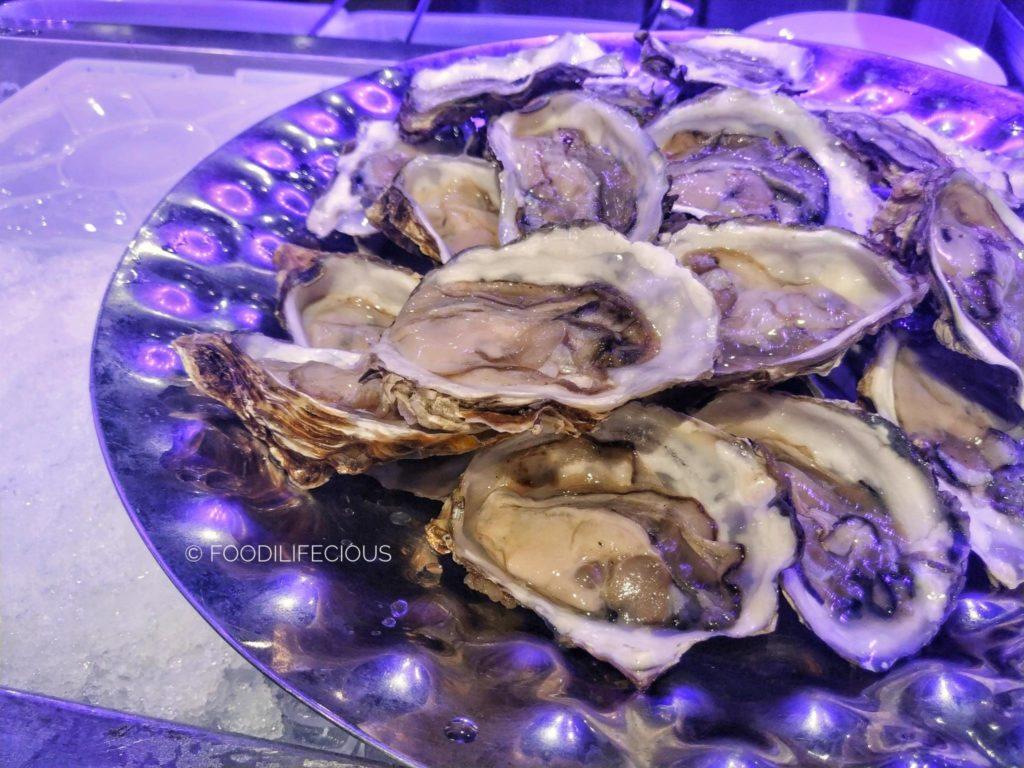 tiki bbq seafood dinner